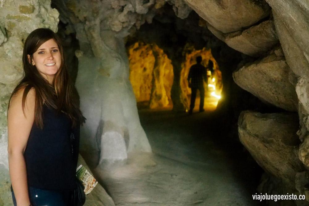 Quinta da Regaleira tiene varias cuevas tan increíbles como esta.