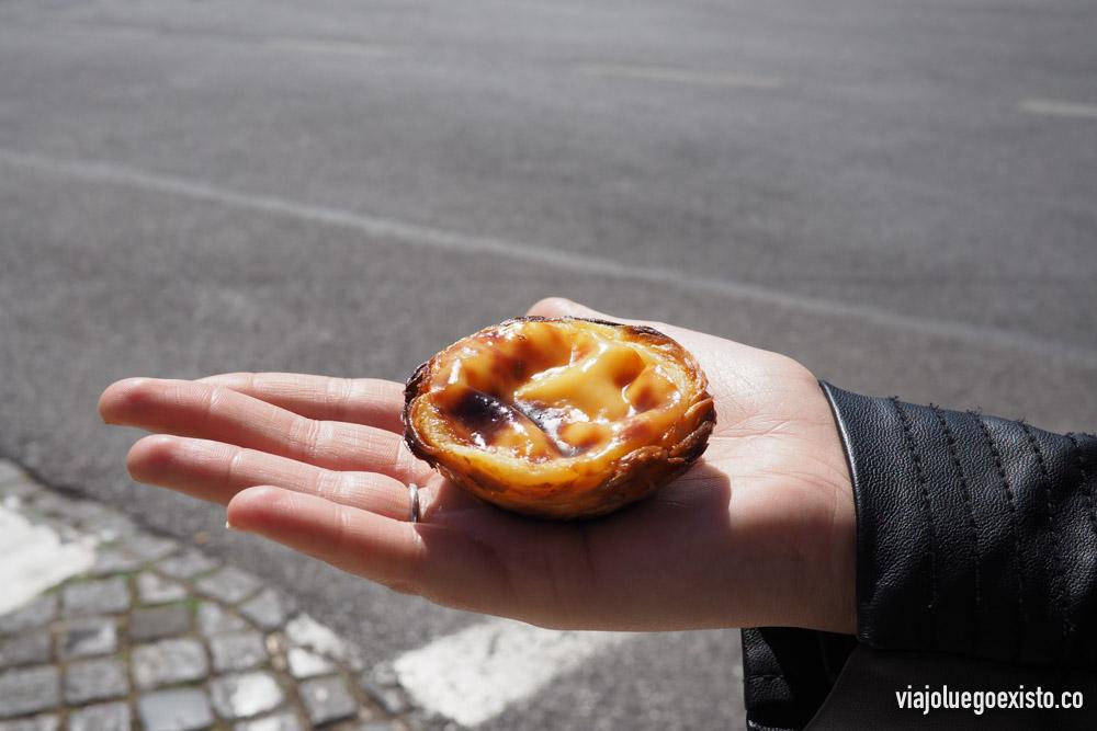 Los riquísimos pasteles de nata de Pasteis de Belém.