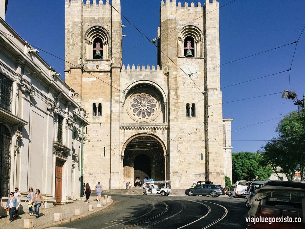 Catedral Sé de Lisboa.