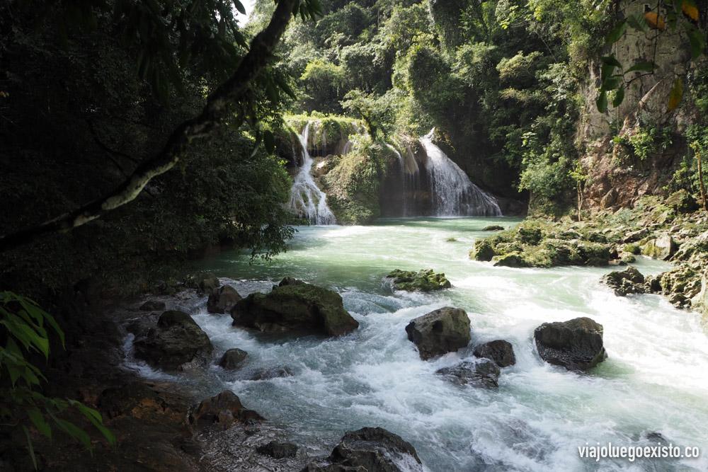 Semuc Champey, Guatemala. Fotografía sin HDR.