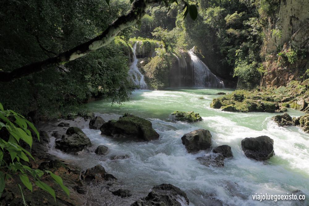 Semuc Champey, Guatemala. Fotografía con HDR.