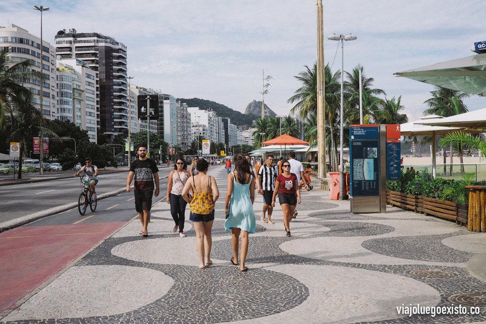 Paseo marítimo de Copacabana