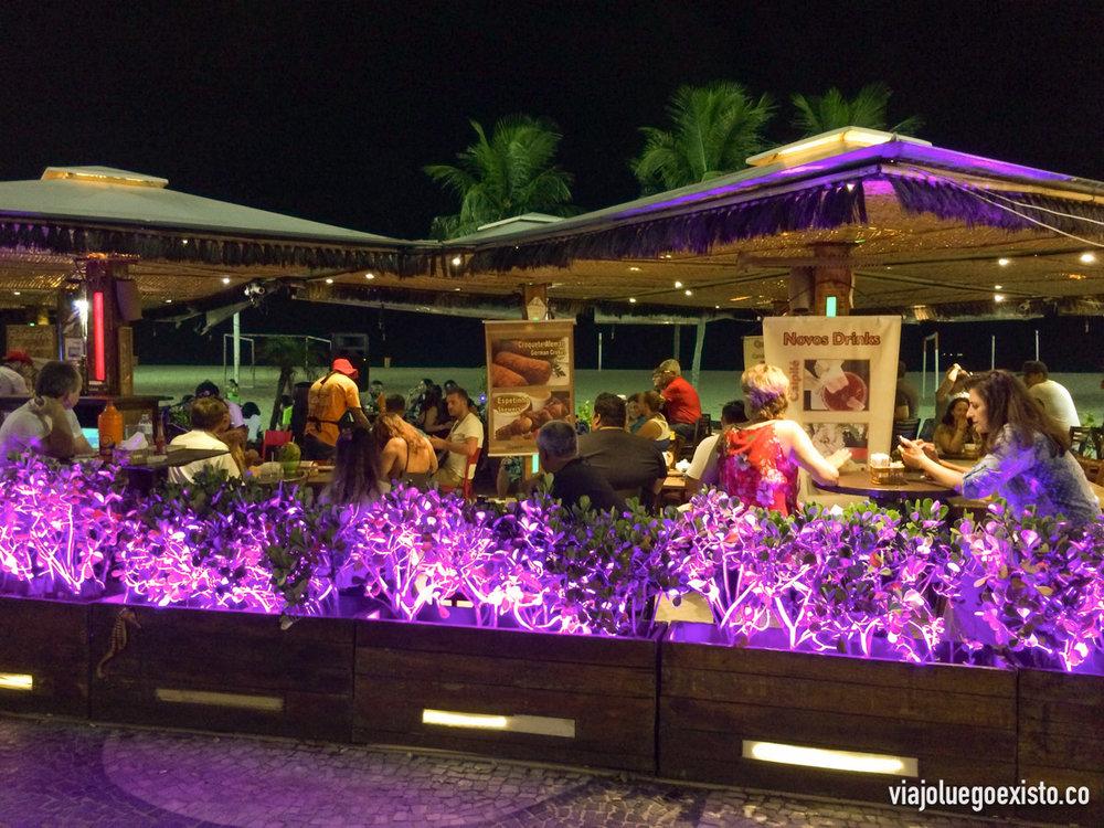 Restaurante Gosto do Mar, en Copacabana