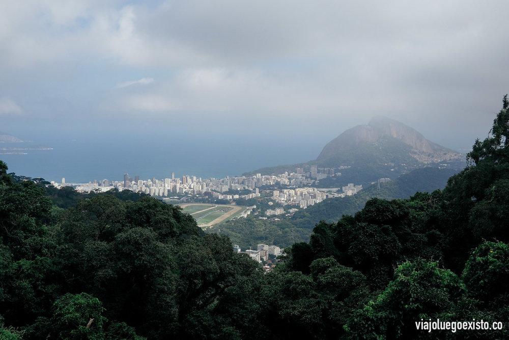 Vistas de Ipanema y Morro Dois Irmãos desde Paineiras (donde se compran las entradas)