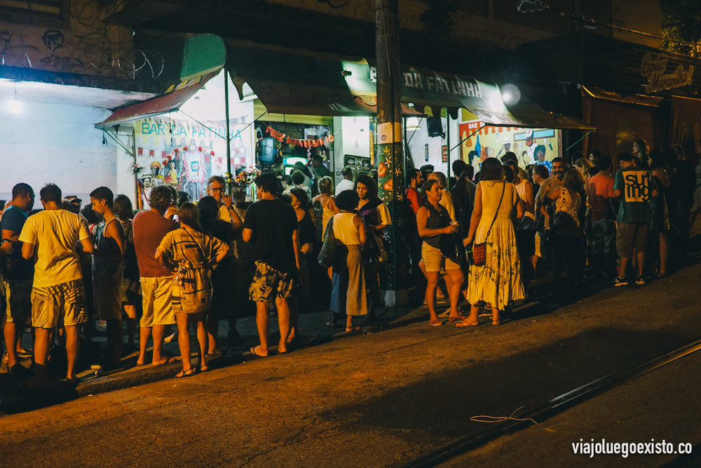 Uno de los bares de esta zona de Santa Teresa