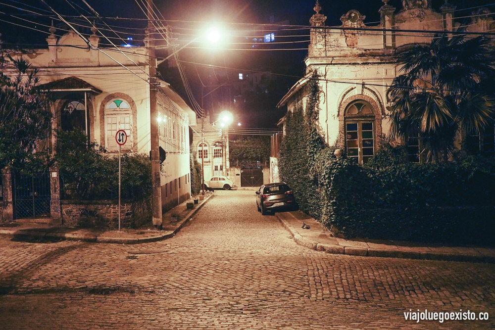 Calles de Santa Teresa de noche