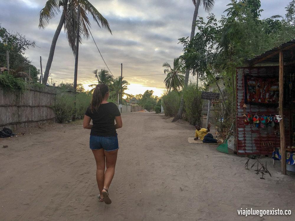 Tam de paseo por Vilanculos