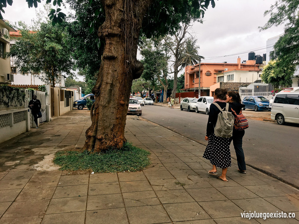 Paseando por el distrito Central C de Maputo
