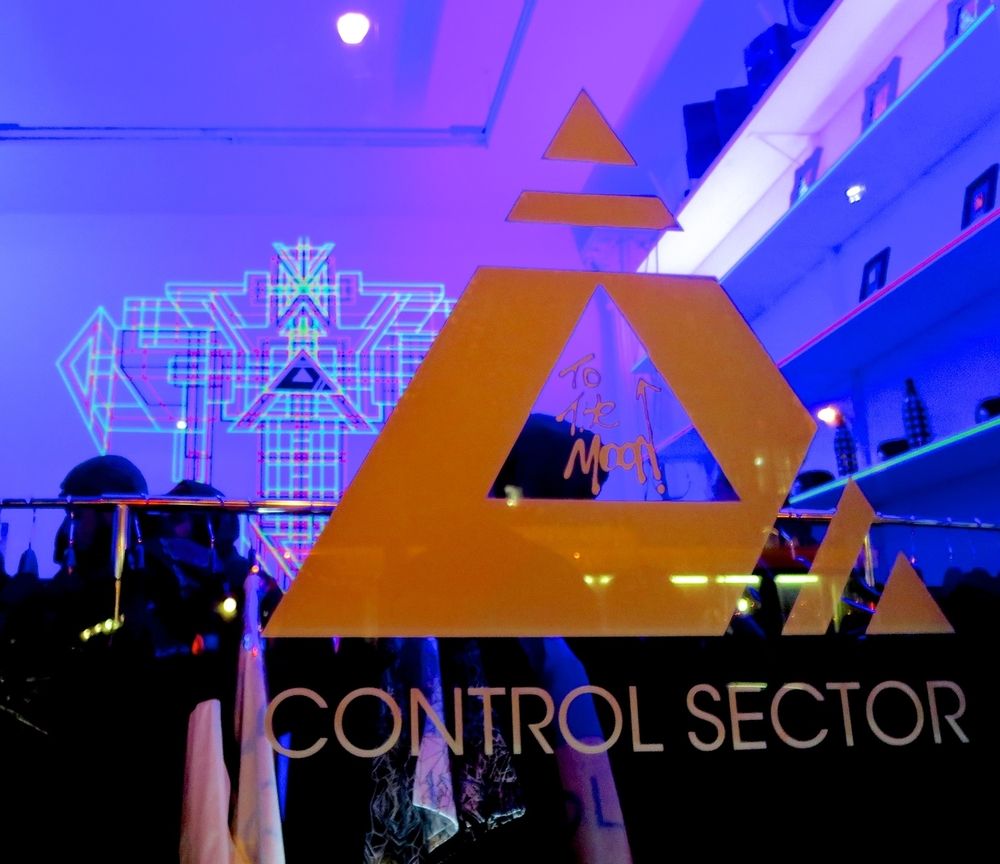 Control Sector x Art Instillation