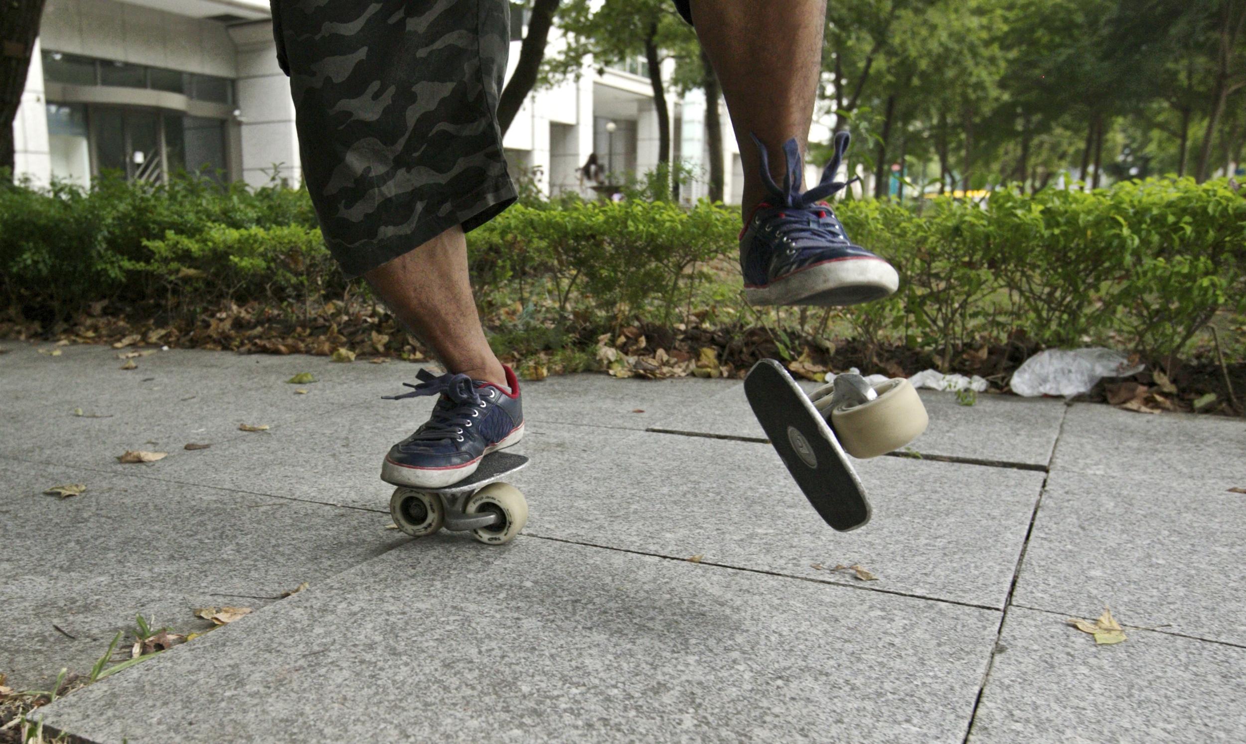 Ini dia Gansis Skate Unik Abad ke 21!