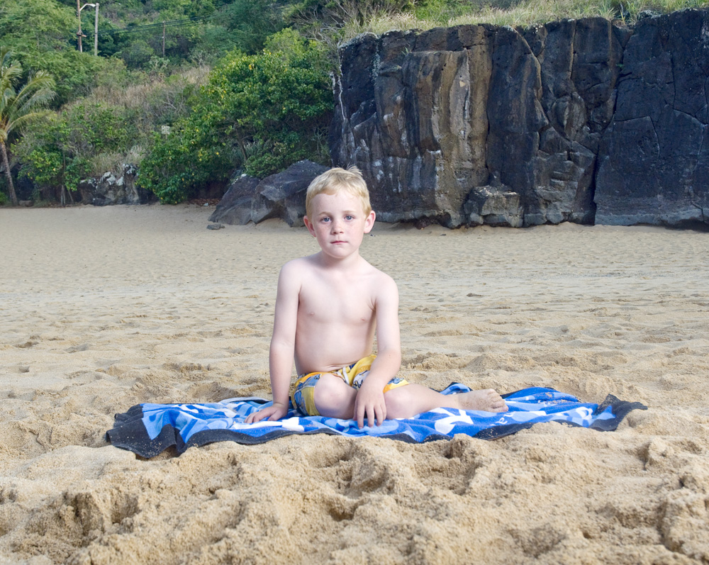 "Luke Schofielder    Waimea Bay Beach Park,Oct. 21, 2010    Archival Pigment Print, 19.75"" x 15.75"""
