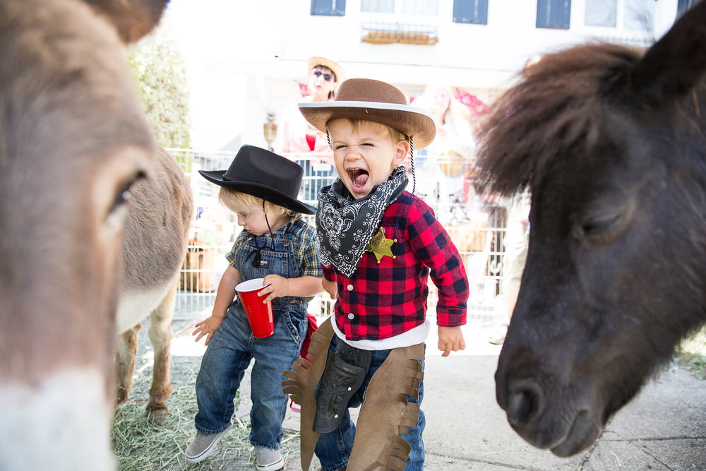A Dude Ranch would not be complete without a petting zoo.