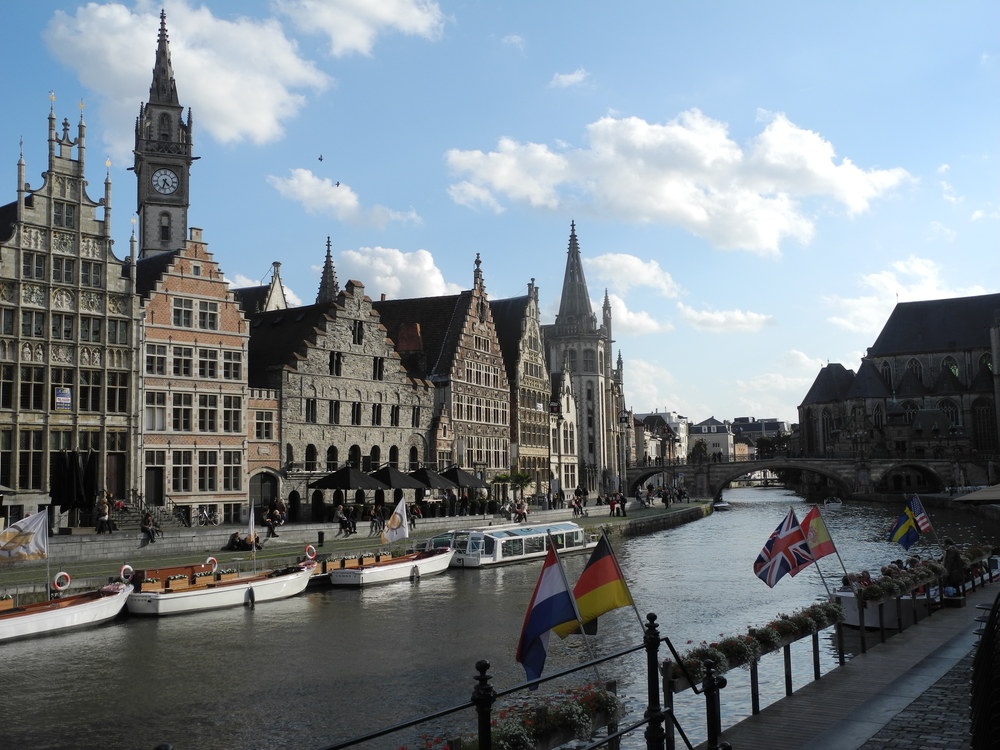 Gent, an easy day trip from Bruges