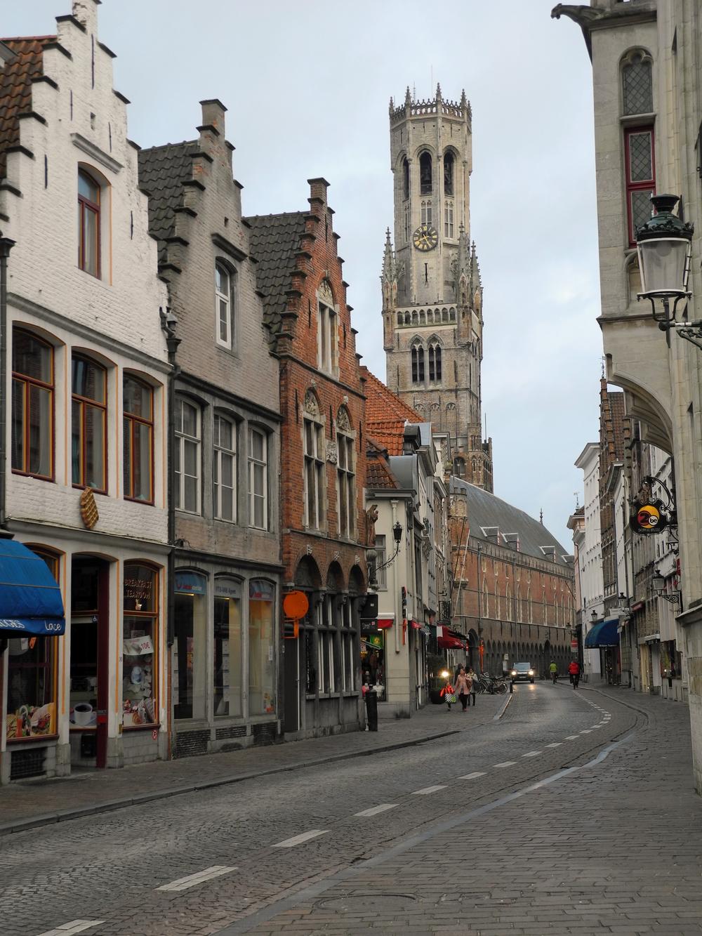 Center of Bruges, Belgium