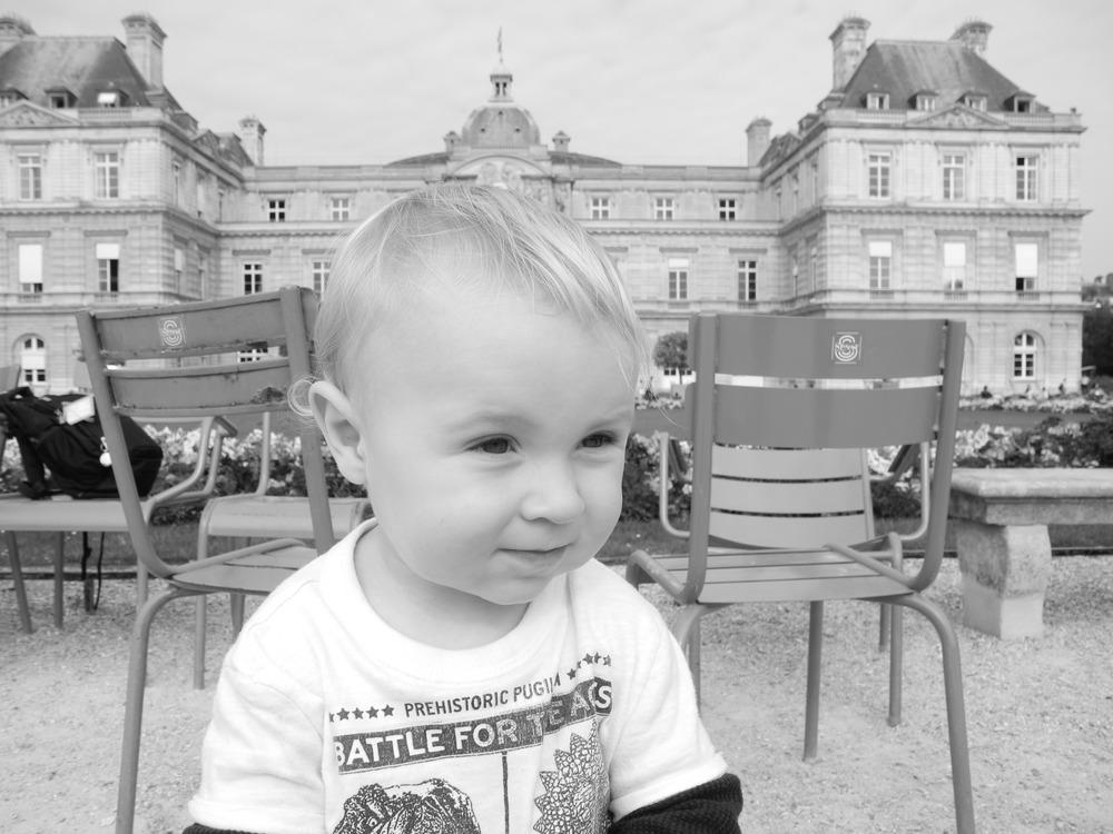 Fun at Jardin Du Luxembourg.