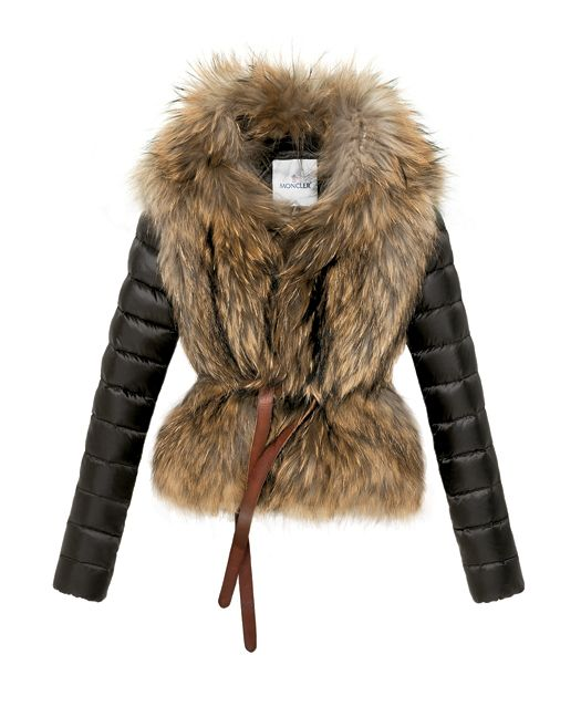 Moncler Down and Fur