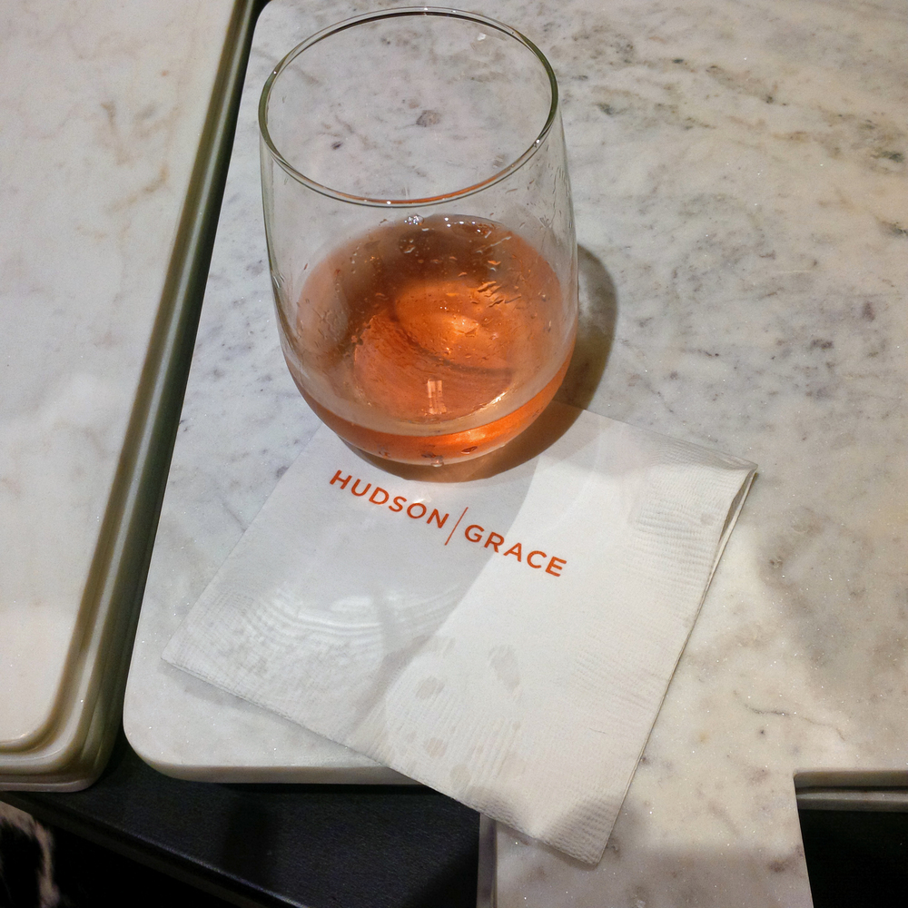 Generous glasses of Rosé made their rounds throughout the evening.