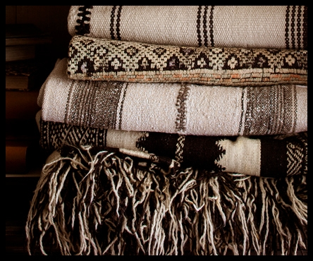 Moroccan rugs - add a lavish layer.