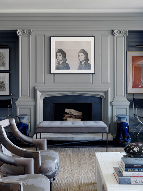 A gray space + Jackie O = love
