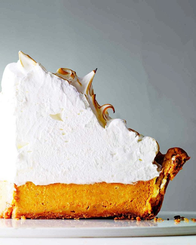 My Domaine - Pumpkin Meringue Pie.