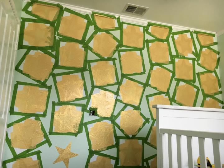 Painted Stars DIY