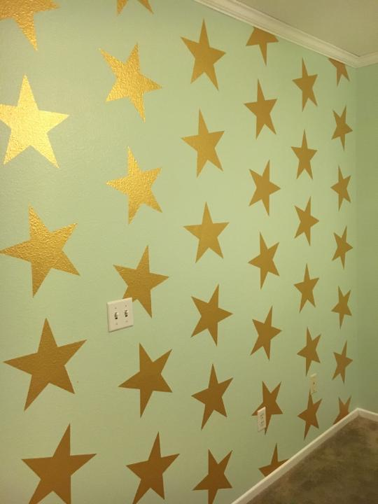 Hand Painted Stars