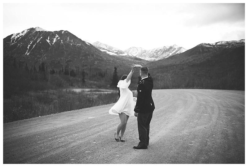 Alaskan Destination Wedding Portraits Anchorage Alaska Photographer