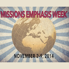 Missions Conference 2014 Topic: Missions