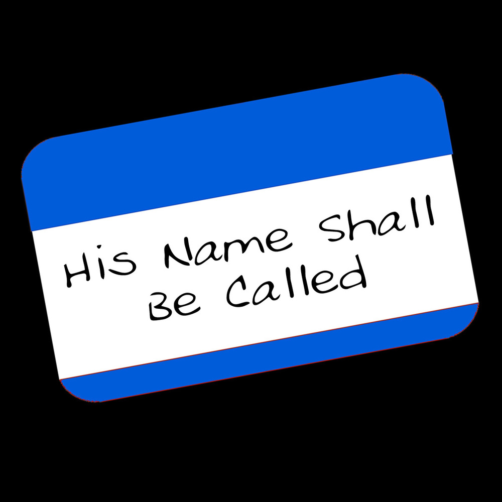 His Name Shall Be Called- 2015 Topic: Identity of Jesus