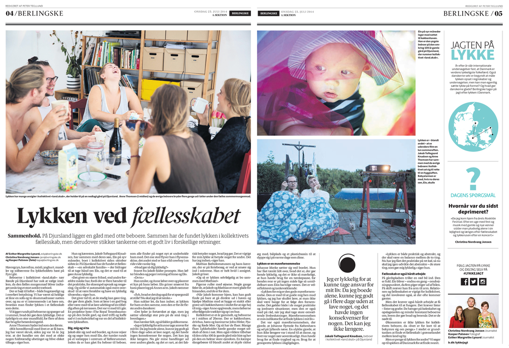 The Pursuit of Happiness 1/2 - Berlingske