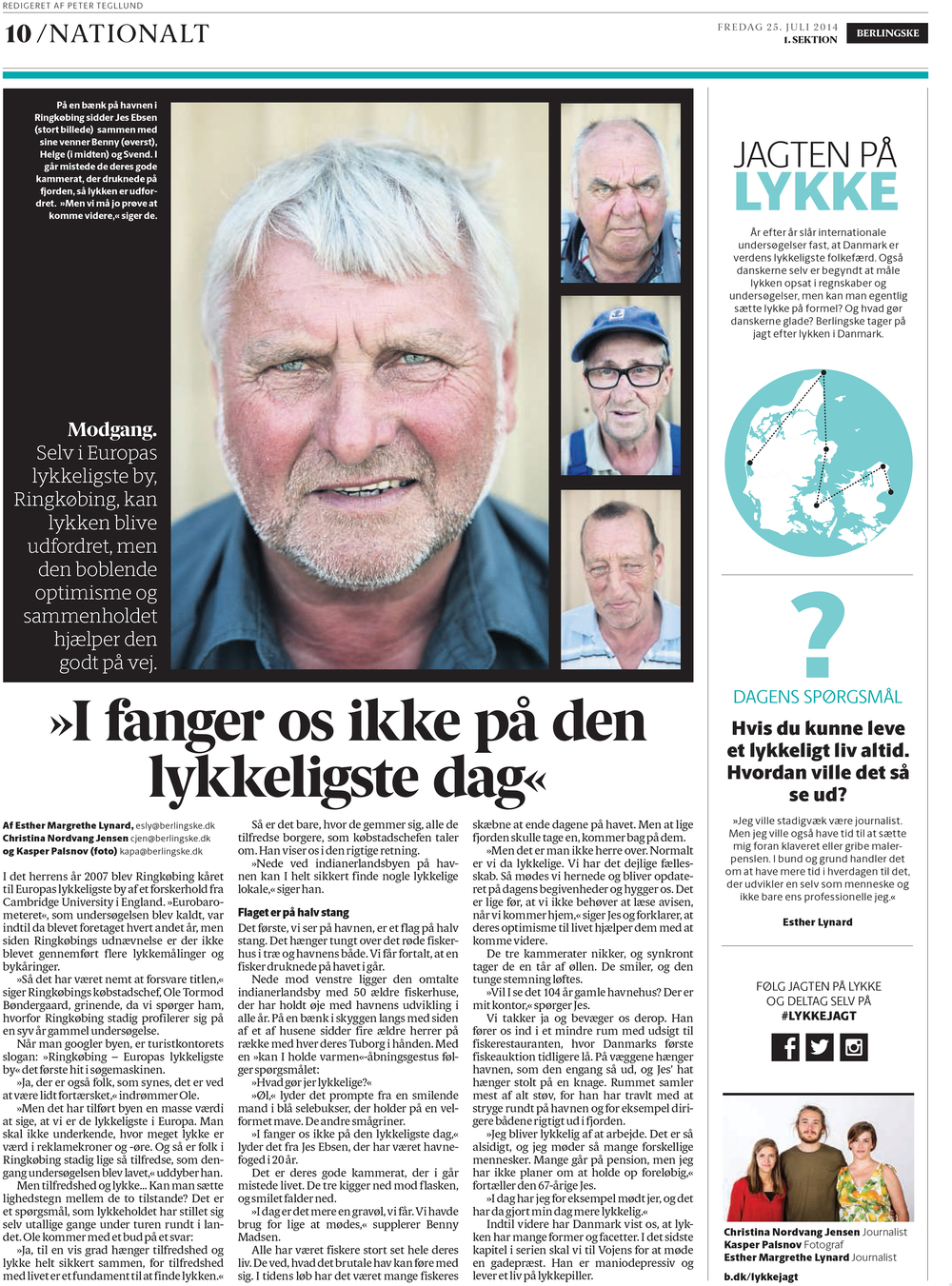 The Pursuit of Happiness 2/2 - Berlingske
