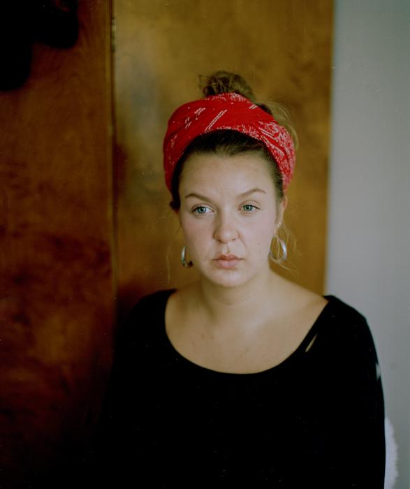 "Nina, 2012.   ""Nærhed gør, at man kan rumme ting"""