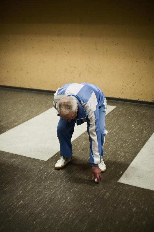 Senior Ping-Pong in Aarhus, DK