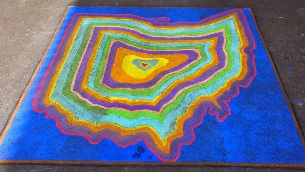 Chalk the Block 3 - 2014