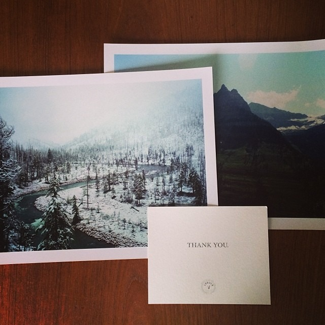 Did @yonderjournal send you some sugar as well? #prints #yonderjournal