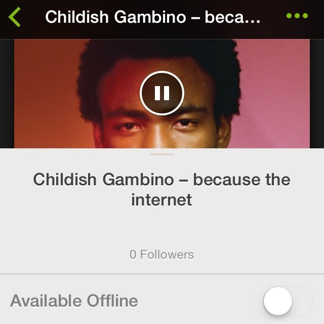 @DonaldGlover I press your forehead and you spit bars