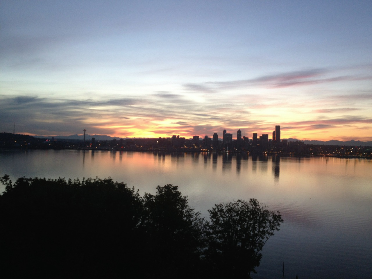 6/28/12 Seattle sunrise