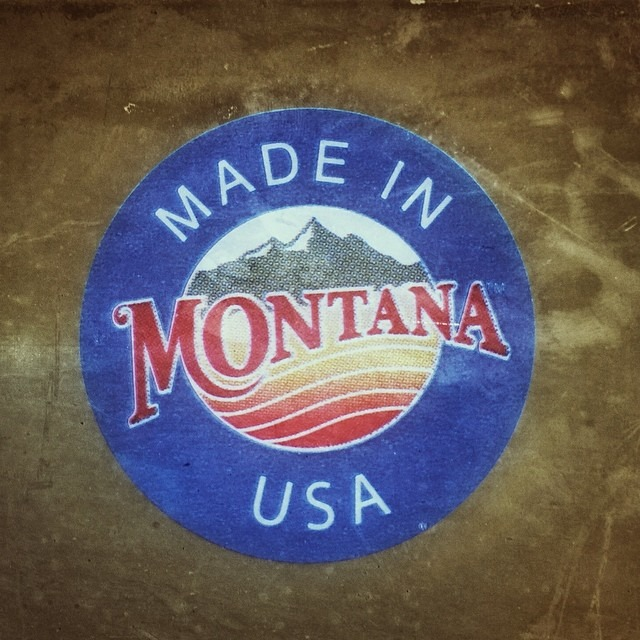 That's right.  #Montana