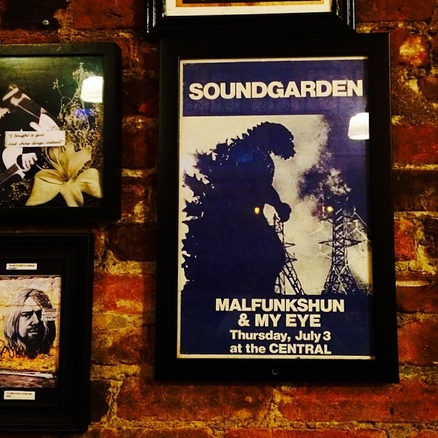 Old haunts have sexy history #seattle #soundgarden