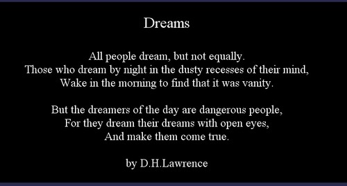 when do you dream?