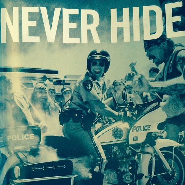 @rayban put together one of my favorite print ads of late. #rayban #sunglasses #neverhide