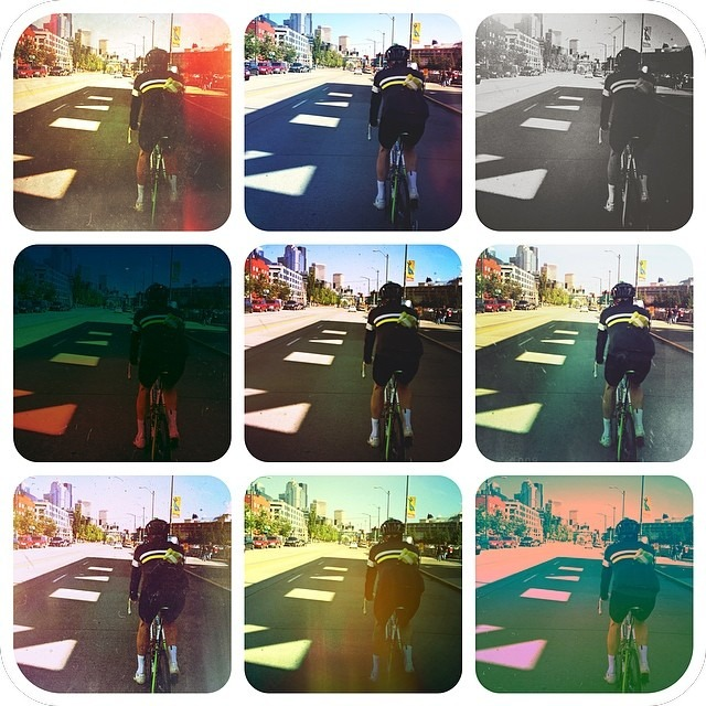 I have spent many a miles staring at this bottom - in various stages of hurt.  Here are 9 visual representations of said hurt. #cycling #friendshiptowrope (at Pier 55 Seattle Waterfront)