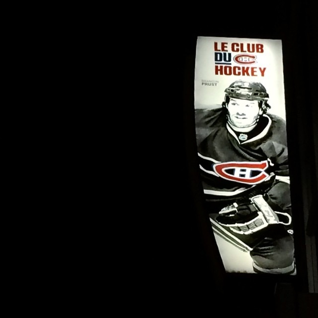 Le Club Du Hockey #Montreal #Canadiens #LeHabitants #NHL (at Centre Bell - Canadiens De Montreal)