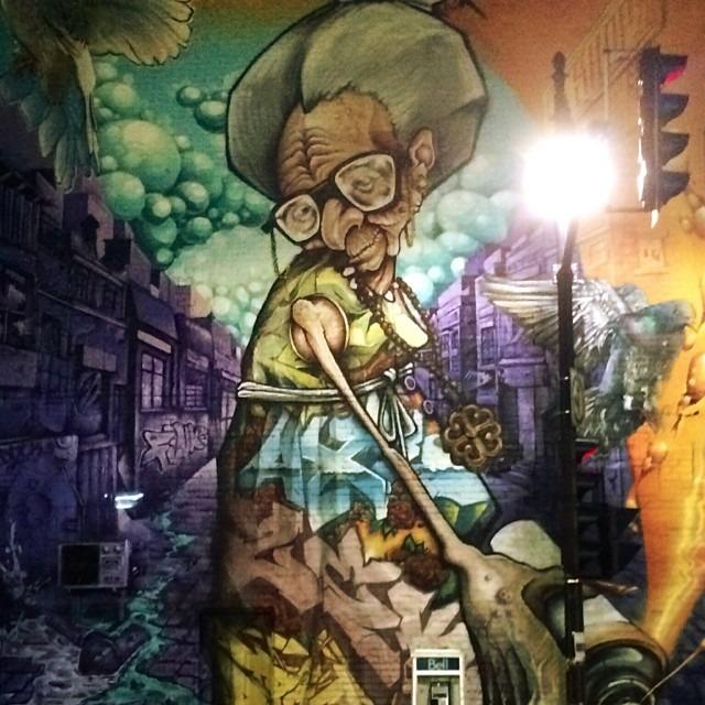 Gran-Gran mural #Montreal Quebec Canada