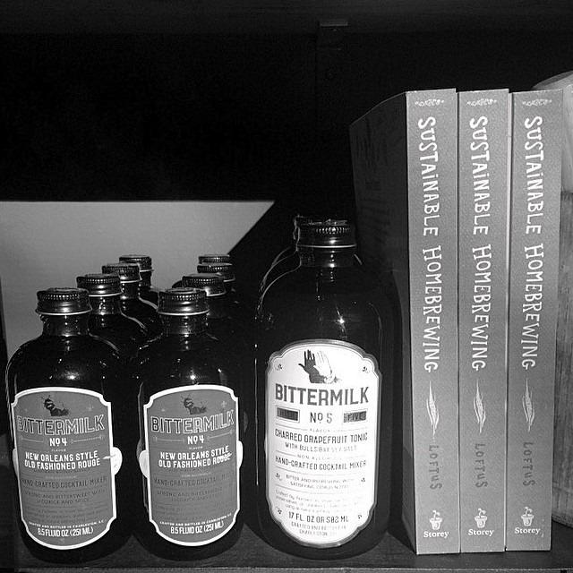 #bittermilk + #whisky = #friday