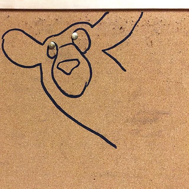 Cork bear (at Zeitgeist)