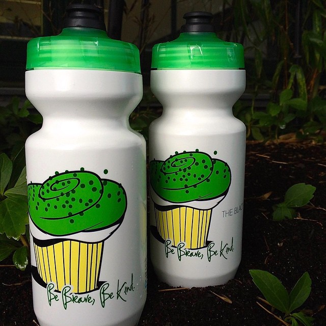 Vert Little Princess Cupcake Bottles (sold as pair) #bebravebekind