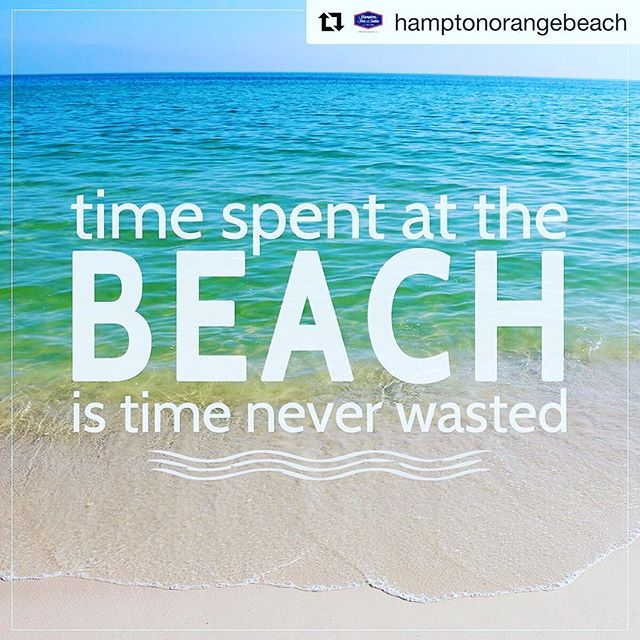 ☀️🏖 Enjoy your weekend! #TimeManagement  via @hamptonorangebeach