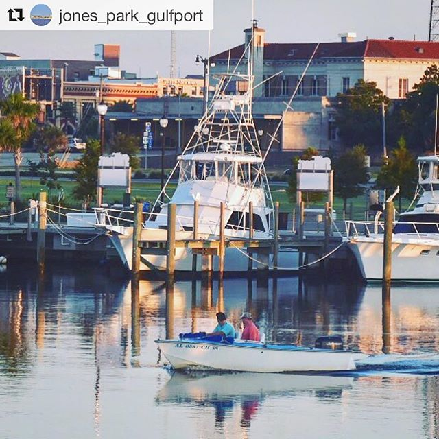 🎣🚤 We love our early morning fishermen. Going out with the first light and returning with fresh catch & great memories. Have you gone fishing lately?  We have two fishing piers and may places to cast a hook or throw a net. Join us @jones_park_gulfport!  #sunning #gulfportharbor #jonespark #relaxtime #fishing #fishnets #familytime #familyfun #boating #gulfport #gulfportms