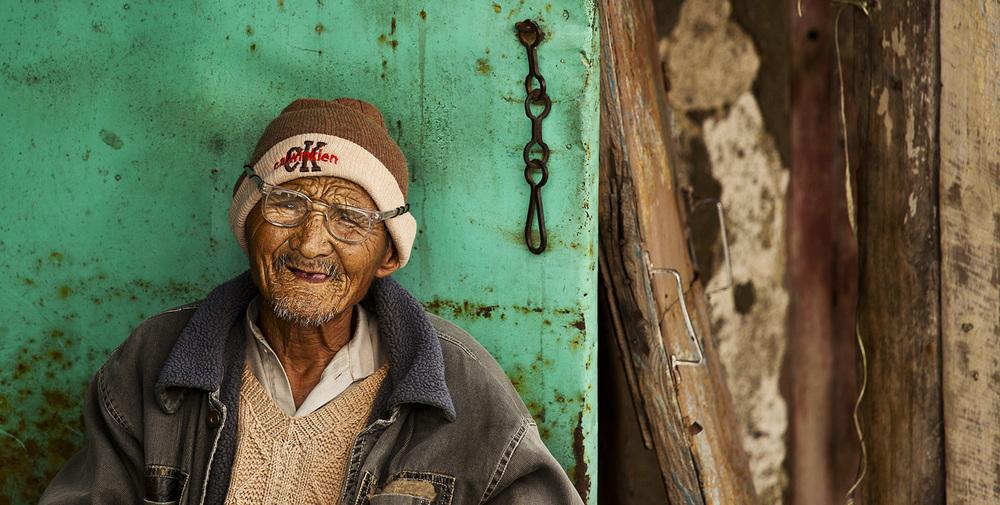 Elderly Man in Mussorie, India.